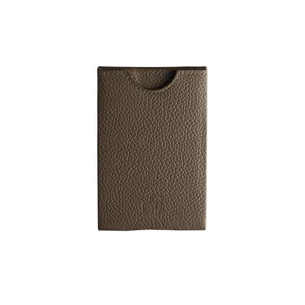7d670f55938 W4llet | Genua | Credit Card Wallet RFID grained leather stone ...