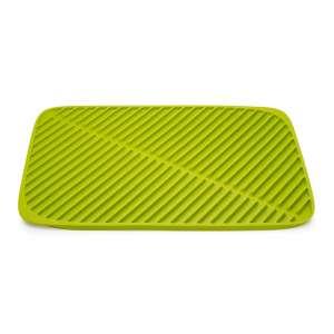 Ausgussmatte faltbar 'Flume' groß (31x43,5x1cm)  grün