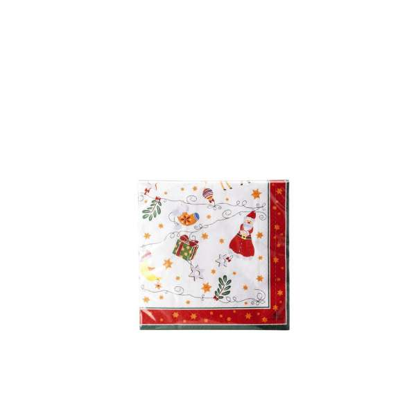 Servietten 33x33 cm 2018 Fröhliche Weihnacht