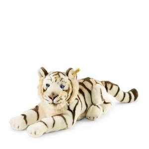 Tiger Bharat liegend 43 cm weiss