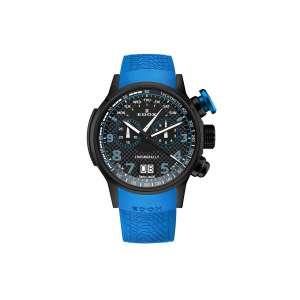 Armbanduhr Chronorally Chronograph blau