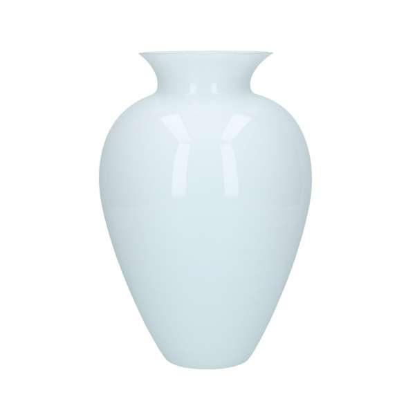 Vase 29 cm milchweiß