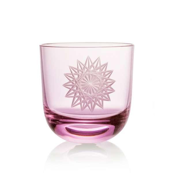 Glas Stella II 0,2 l pink