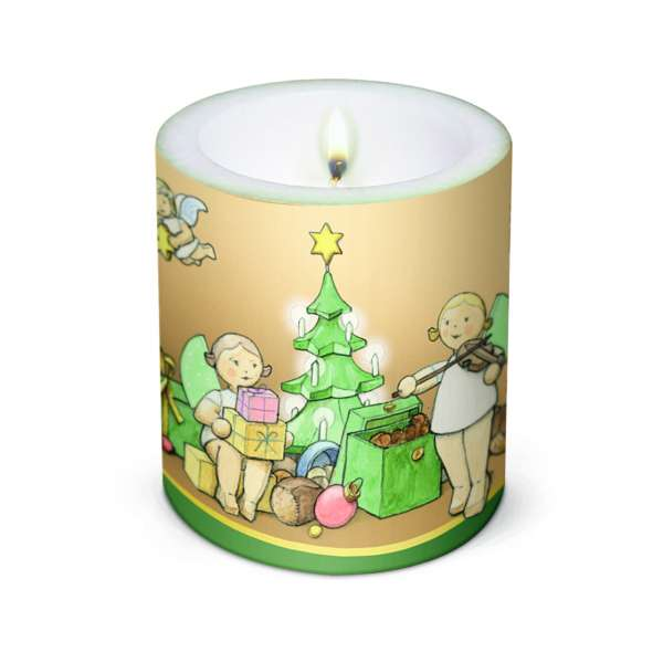 "Kerze "" Weihnachtszauber"""