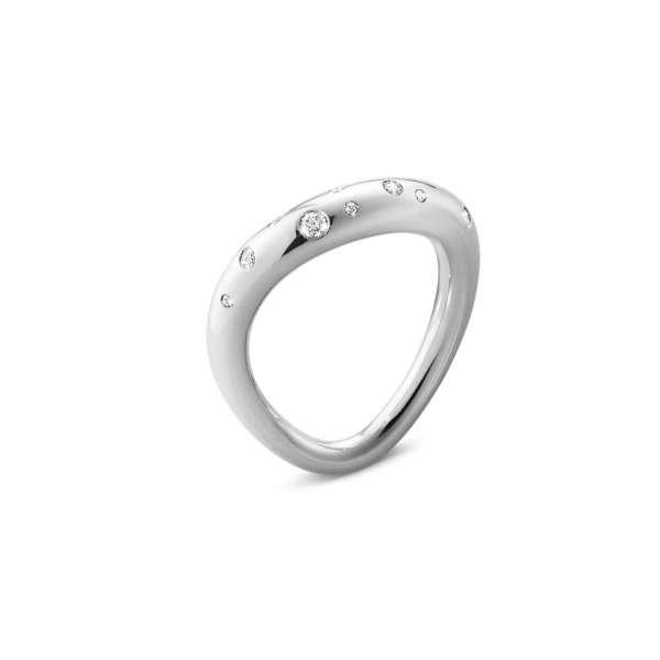 Ring W58-59 Diamanten 0,14 ct Sterlingsilber 925