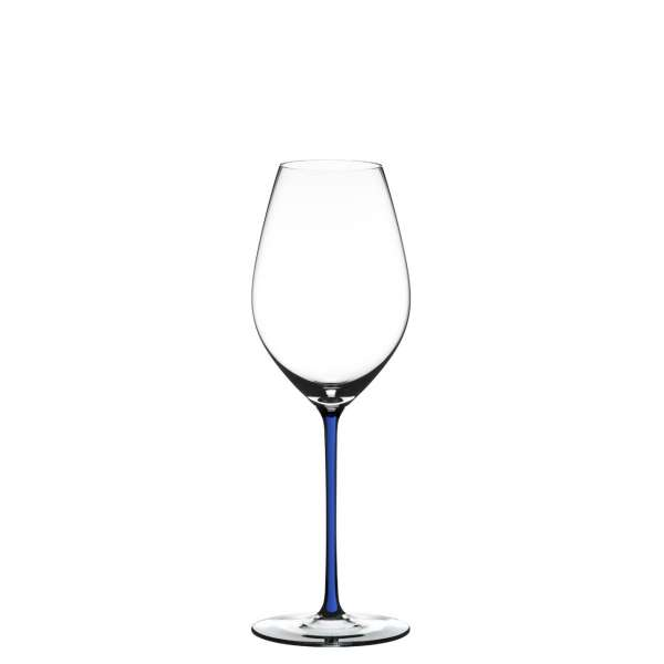 Champagnerglas dunkelblau