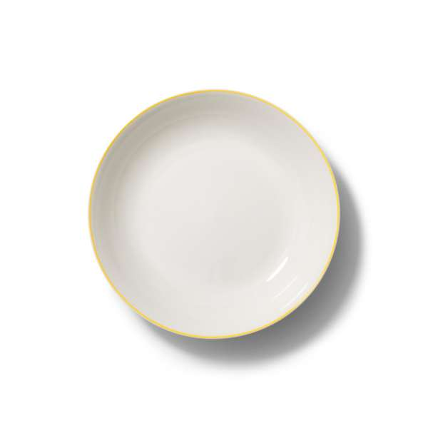 Suppenteller 22,5 cm gelb
