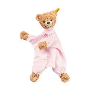 Schmusetuch Bär Schlaf Gut 30 cm rosa