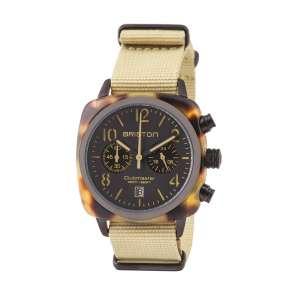Clubmaster Classic Chronograph Datum matt schwarzes Zifferblatt Acetat/Edelstahl geschwärzt