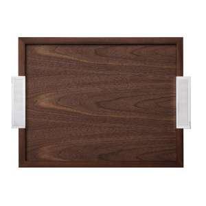 Tablett rechteckig mit Griffen 49x39 cm