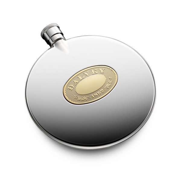 Flachmann gold 125 ml