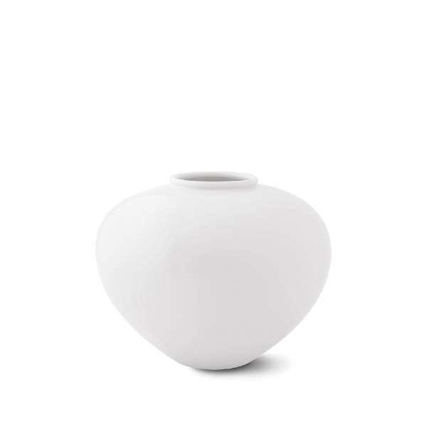 Vase Zwiebelform 17,5 weiß