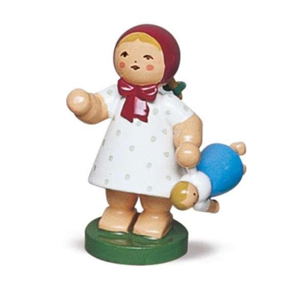 Mädchen m. Puppe