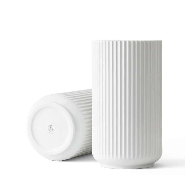 Vase 31 cm weiß