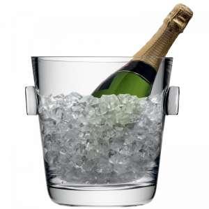 Champagnerkühler 25 cm klar