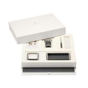 Schreibtischaccessoires-Set schwarz