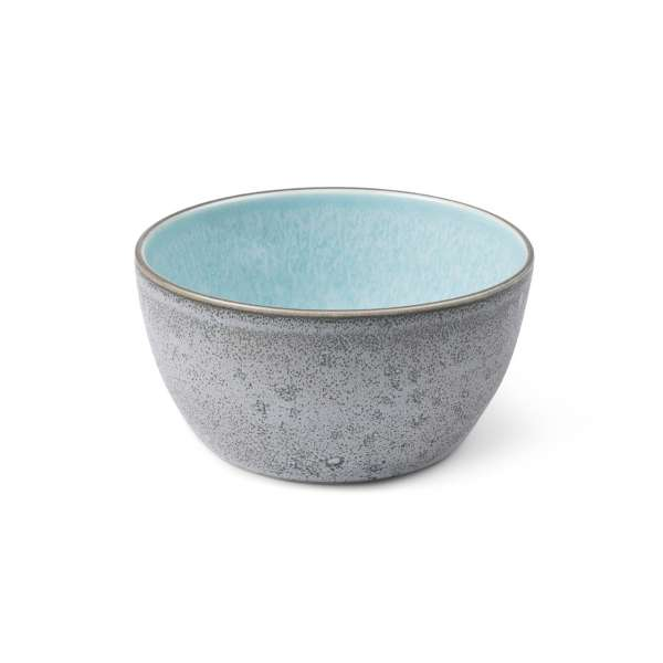 Bowl 14 cm grau/hellblau