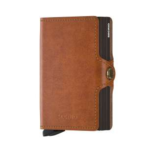 Twinwallet Original cognac/brown