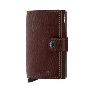 Miniwallet Vegetable Tanned espresso/brown