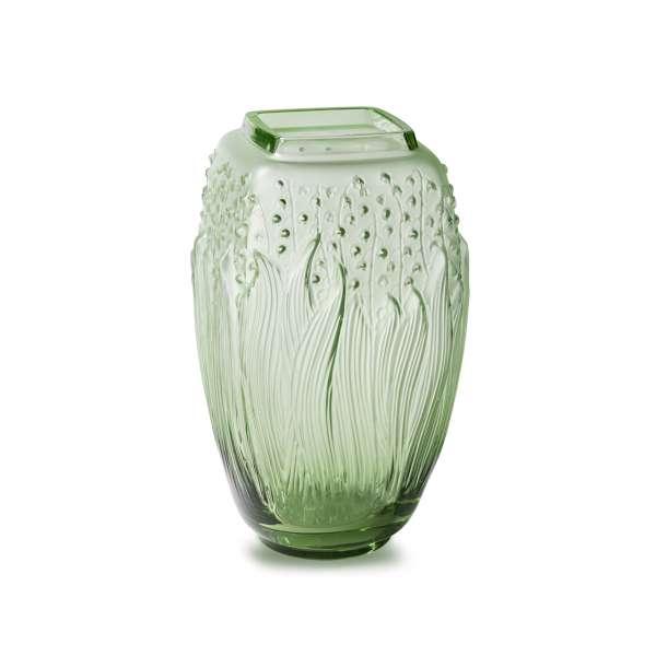 Vase 29 cm grün