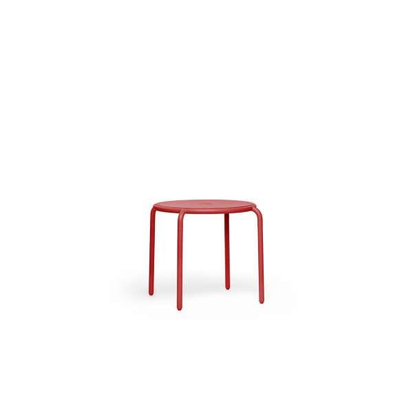 Tisch Bistreau industrial red