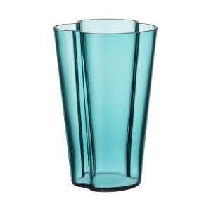 Vase 22 cm seeblau