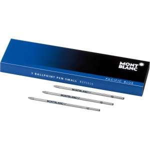Kugelschreiberminen Klein (3 Stk.) Pacific Blue