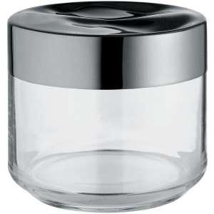 Dose 0,50 l/9,3 cm Edelstahl/Glas