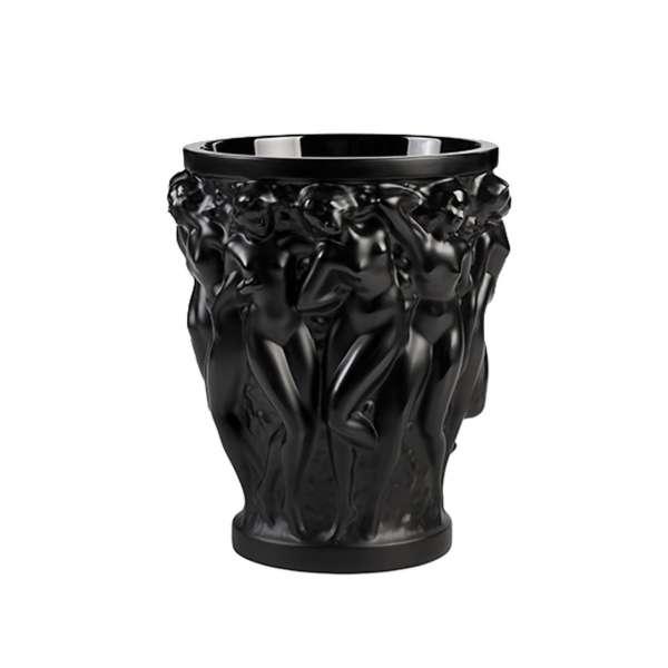 Vase Bacchantes 14,6 cm schwarz