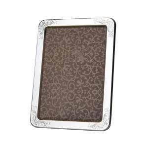 Bilderrahmen Blattdekor 13x18 cm Sterlingsilber