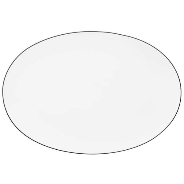 Platte oval 34 cm