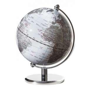 Mini-Globus weiß