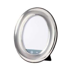 Bilderrahmen oval 9x13 cm Sterlingsilber