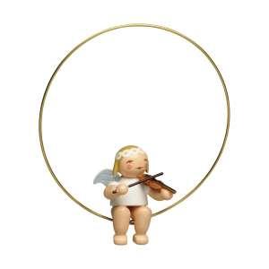 Christbaumengel im Ring, m. Geige