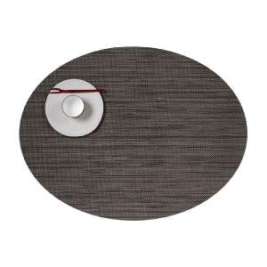 Tischset 36x49 cm oval Light Grey