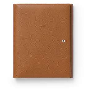 Schreibmappe/ Tablet-Hülle A5 cognac