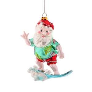 Hänger surfender Santa
