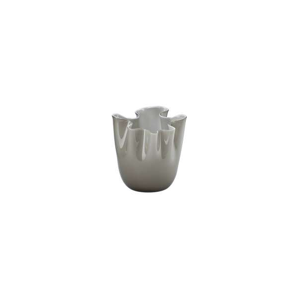 Vase 13,5 cm grau