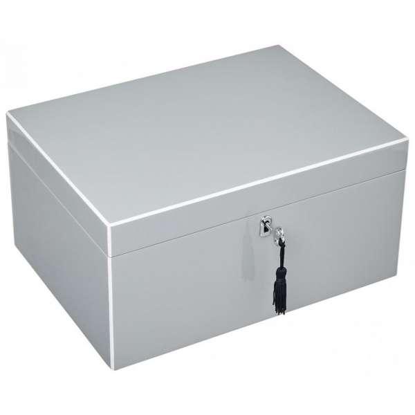 Schmuckbox m. Schloss flannel