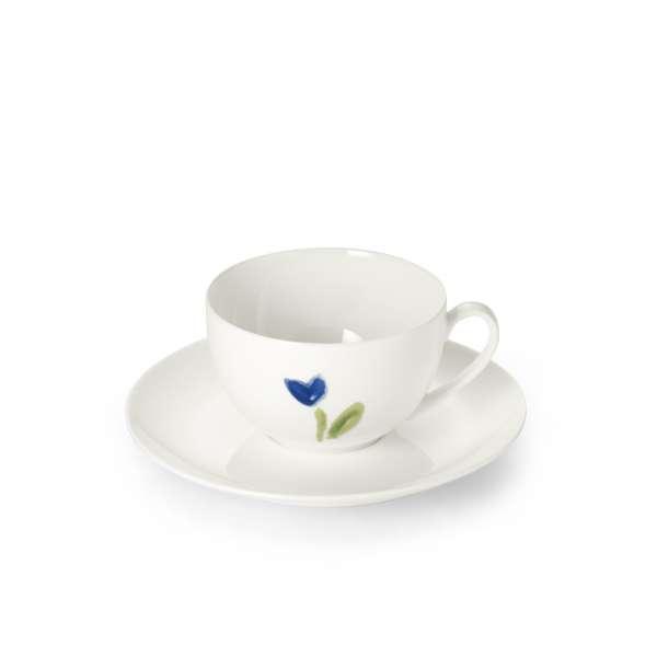 Kaffeetasse m. U. 0,25 l blau