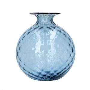 Vase 16,5 cm grape/blutroter Faden