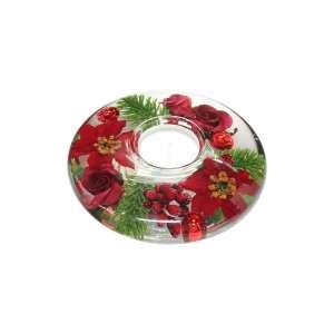 Teelicht medium Winter Rose