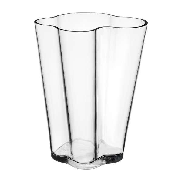 Vase 27 cm klar