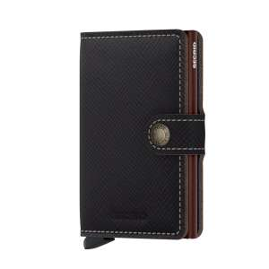 Miniwallet Saffiano brown
