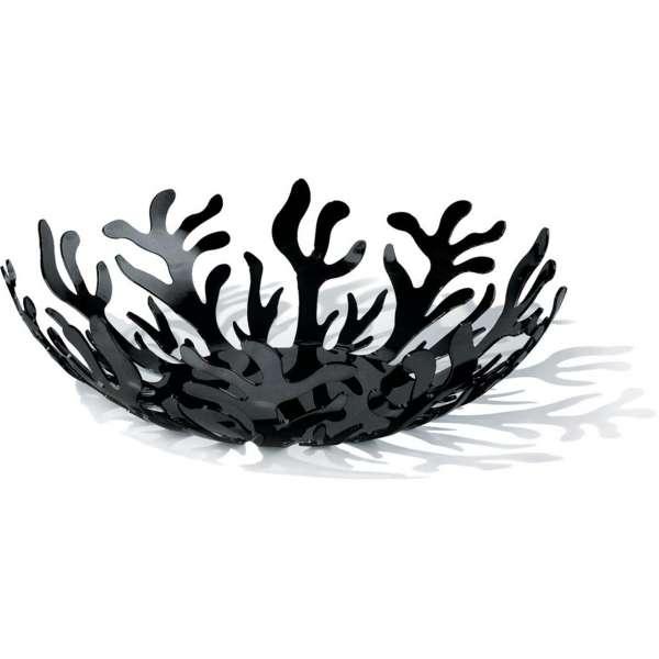 Obstschale 29 cm schwarz
