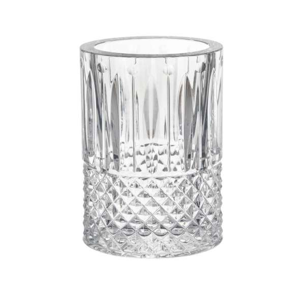 Vase 20x14,4x10,5 cm oval klar