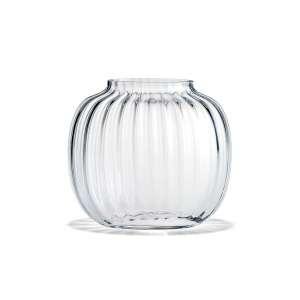 Vase oval 17,5 cm klar