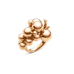 Ring Brillant 0,02 ct Roségold 750 W56