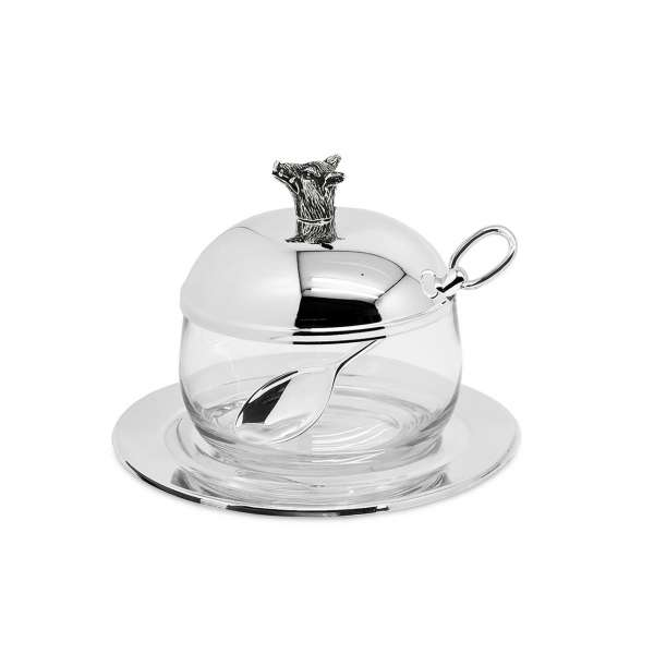Marmeladenglas Eber 11 cm