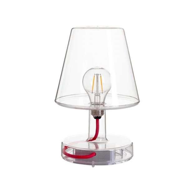 Tischlampe transparent